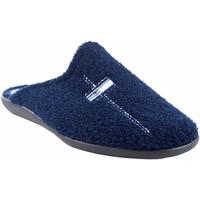 Zapatos Hombre Pantuflas Ne Les Ir por casa caballero NELES p6-6724 azul Azul