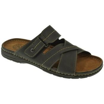 Zapatos Hombre Chanclas Kelara SANDALIA HOMBRE  NEGRO Negro