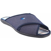 Zapatos Hombre Zuecos (Mules) Ne Les Ir por casa caballero NELES c70-14711 azul Azul