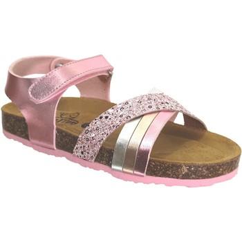 Zapatos Niña Sandalias Plakton Lara Rosa metalizado