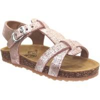 Zapatos Niña Sandalias Plakton Paula Rosa metalizado