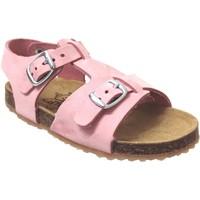 Zapatos Niña Sandalias Plakton Ponette Rosa nobuck