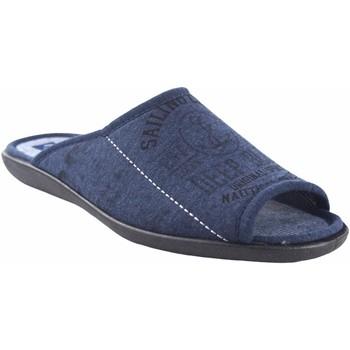 Zapatos Hombre Pantuflas Ne Les Ir por casa caballero NELES n3-37742 azul Azul