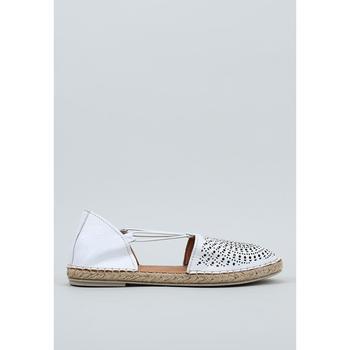 Zapatos Mujer Alpargatas Krack  Blanco