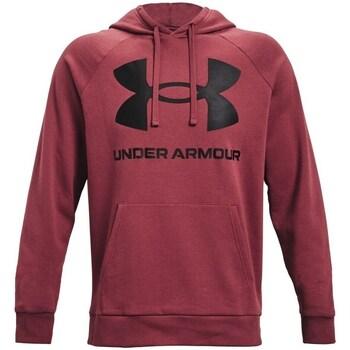 textil Hombre Sudaderas Under Armour Rival Fleece Big Logo HD Rojo burdeos