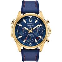 Relojes & Joyas Hombre Relojes analógicos Bulova 97B168, Quartz, 43mm, 10ATM Oro