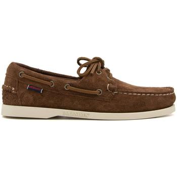 Zapatos Hombre Mocasín Sebago PORTLAND-7111 MARRONE
