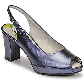 Zapatos Mujer Zapatos de tacón Dorking MODALIA Marino