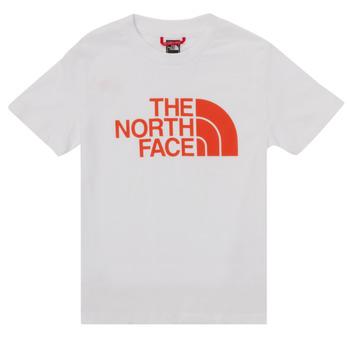 textil Niño Camisetas manga corta The North Face EASY TEE SS Blanco