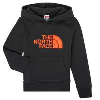 textil Niño Sudaderas The North Face DREW PEAK HOODIE Negro