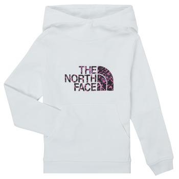 textil Niña Sudaderas The North Face DREW PEAK HOODIE Blanco