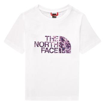 textil Niña Camisetas manga corta The North Face EASY BOY TEE Blanco