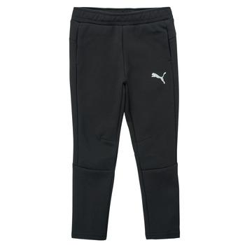 textil Niño Pantalones de chándal Puma EVOSTRIPE PANT Negro