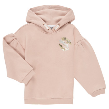 textil Niña Sudaderas Puma ALPHA HOODIE Rosa