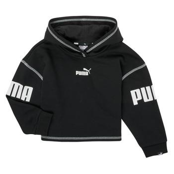 textil Niña Sudaderas Puma PUMA POWER HOODIE Negro