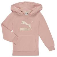 textil Niña Sudaderas Puma T4C HOODIE Rosa