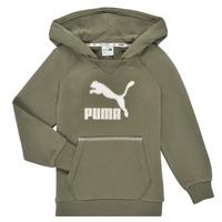 textil Niño Sudaderas Puma T4C HOODIE Kaki