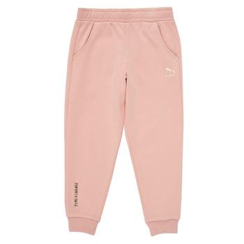 textil Niña Pantalones de chándal Puma T4C SWEATPANT Rosa