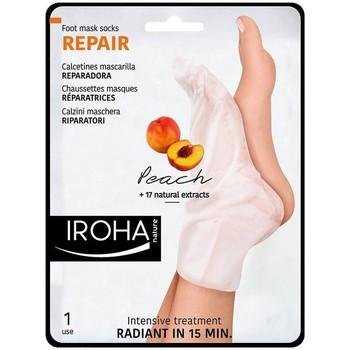 Belleza Cuidados manos & pies Iroha Nature Peach Foot Mask Socks Repair 2 u