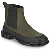 Zapatos Mujer Botas de caña baja Camper PIX Kaki / Negro