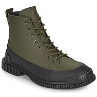 Zapatos Hombre Botas de caña baja Camper PIX Negro / Kaki