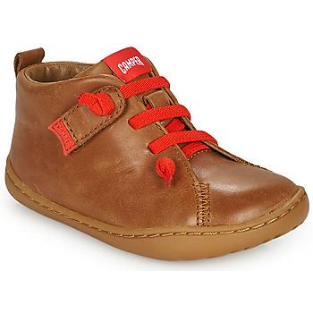 Zapatos Niños Derbie Camper PEU CAMI Marrón