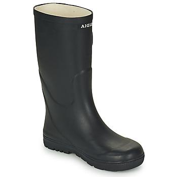 Zapatos Niños Botas de agua Aigle WOODY POP Marino
