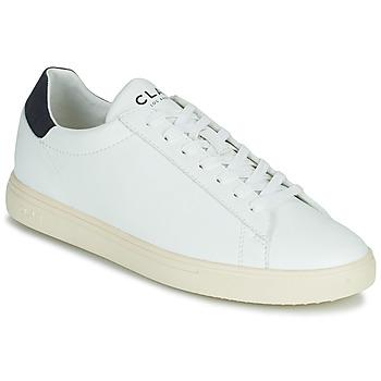 Zapatos Zapatillas bajas Clae BRADLEY VEGAN Blanco / Azul