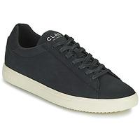 Zapatos Hombre Zapatillas bajas Clae BRADLEY VEGAN Negro / Blanco