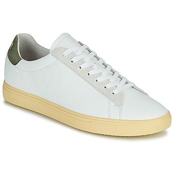 Zapatos Hombre Zapatillas bajas Clae BRADLEY CALIFORNIA Blanco / Verde
