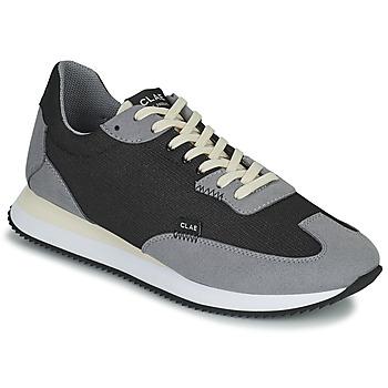Zapatos Hombre Zapatillas bajas Clae RUNYON Negro / Gris