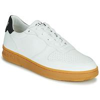 Zapatos Hombre Zapatillas bajas Clae MALONE VEGAN Blanco / Azul