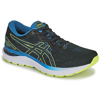 Zapatos Hombre Running / trail Asics GEL-CUMULUS 23 Negro / Azul / Amarillo