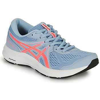 Zapatos Mujer Running / trail Asics GEL CONTEND 7 Gris / Coral