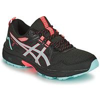 Zapatos Mujer Running / trail Asics GEL-VENTURE 8 Negro / Azul