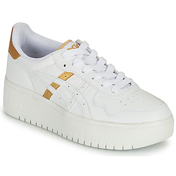 Zapatos Mujer Zapatillas bajas Asics JAPAN PLATFORM Blanco / Oro