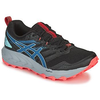 Zapatos Mujer Running / trail Asics GEL-SONOMA 6 Negro / Azul / Rosa
