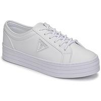 Zapatos Mujer Zapatillas bajas Guess BHANIA Blanco
