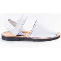 Zapatos Niña Sandalias Huran Sandalias Menorquinas 551 Blanco Blanco