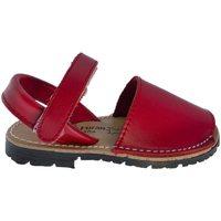 Zapatos Niños Sandalias Huran Sandalias Menorquinas 551 Rojo Rojo