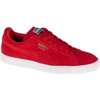 Zapatos Zapatillas bajas Puma Suede Classic Rouge