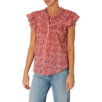 textil Mujer Tops / Blusas M.a.b.e BLUSA ELLIE S/S FRILL MABE MUJER