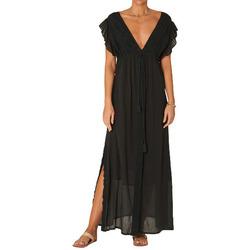 textil Mujer Vestidos largos M.a.b.e VESTIDO FRANCE MAXI MABE MUJER Negro