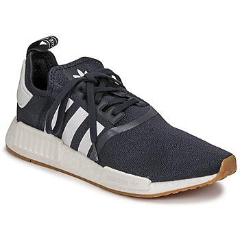 Zapatos Zapatillas bajas adidas Originals NMD_R1 Marino / Blanco