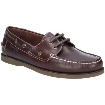 Zapatos Hombre Zapatos náuticos Hush puppies  Rojo