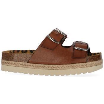 Zapatos Niña Zuecos (Mules) Chika 10 ASTRID 04 Cuero/Tan