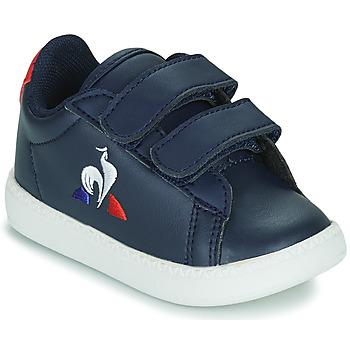Zapatos Niños Zapatillas bajas Le Coq Sportif COURTSET INF Azul