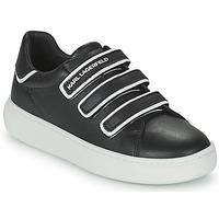 Zapatos Niños Zapatillas bajas Karl Lagerfeld GOLINDA Negro