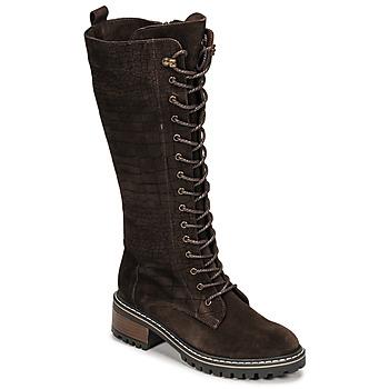 Zapatos Mujer Botas urbanas Elue par nous KOFOUR Marrón