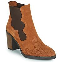 Zapatos Mujer Botines Elue par nous KOISSON Camel